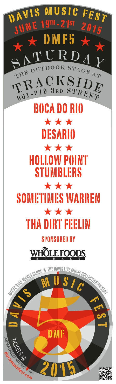 DMF5 lineup announcement posters TRACKSIDE